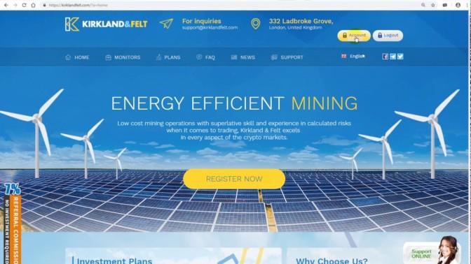 KIRKLAND & FELT, un excellent site d'investissement !!!